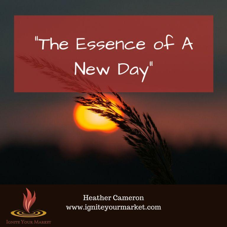 Essence of A New Day