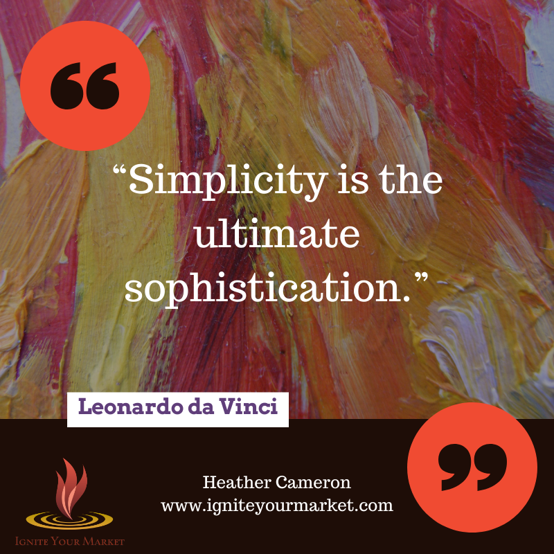 Simplicity = business success