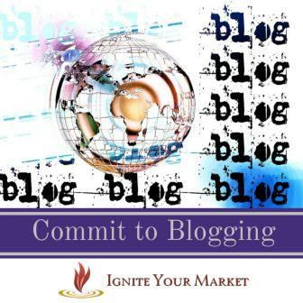 Commit to Blogging