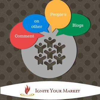 Comment on other people blogs - compressed
