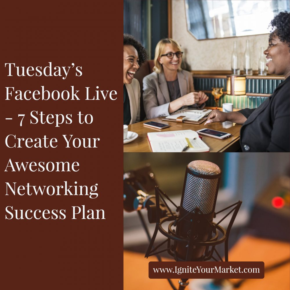 Facebook Live: 7 Steps to Create Your Awesome Networking Success Plan