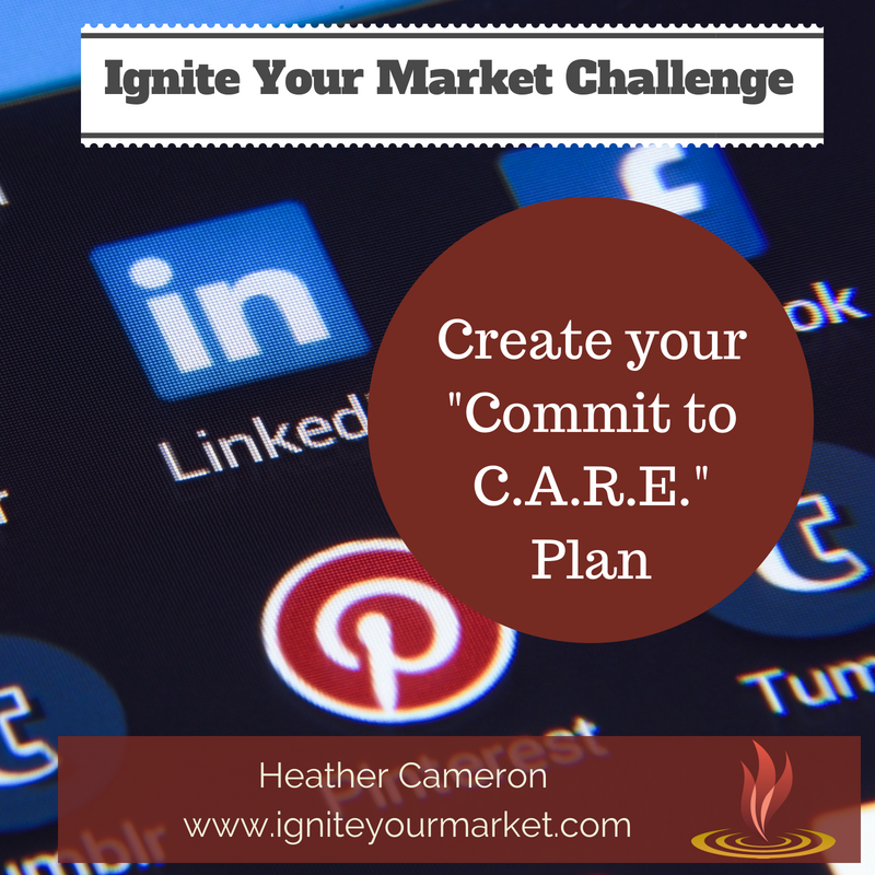 Ignite Your Market Challenge: Commit to C.A.R.E.