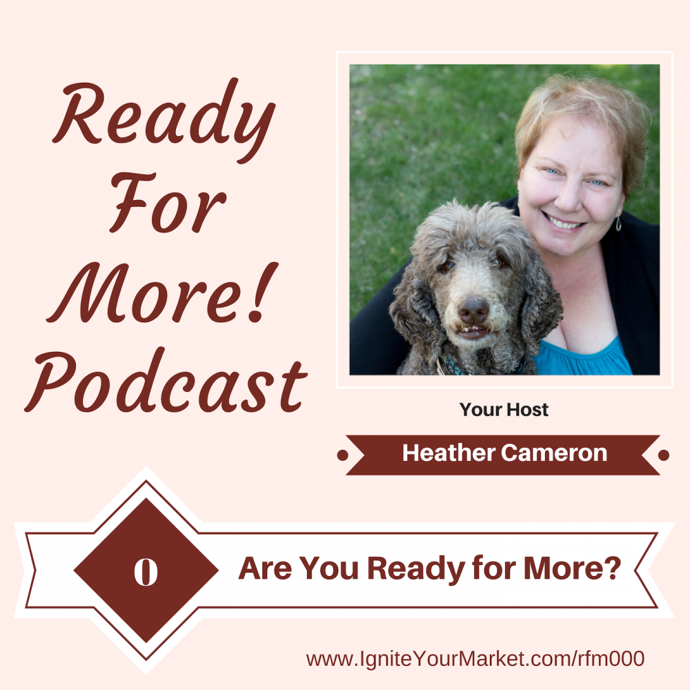 Welcome to the Ready for More! Podcast – RFM000