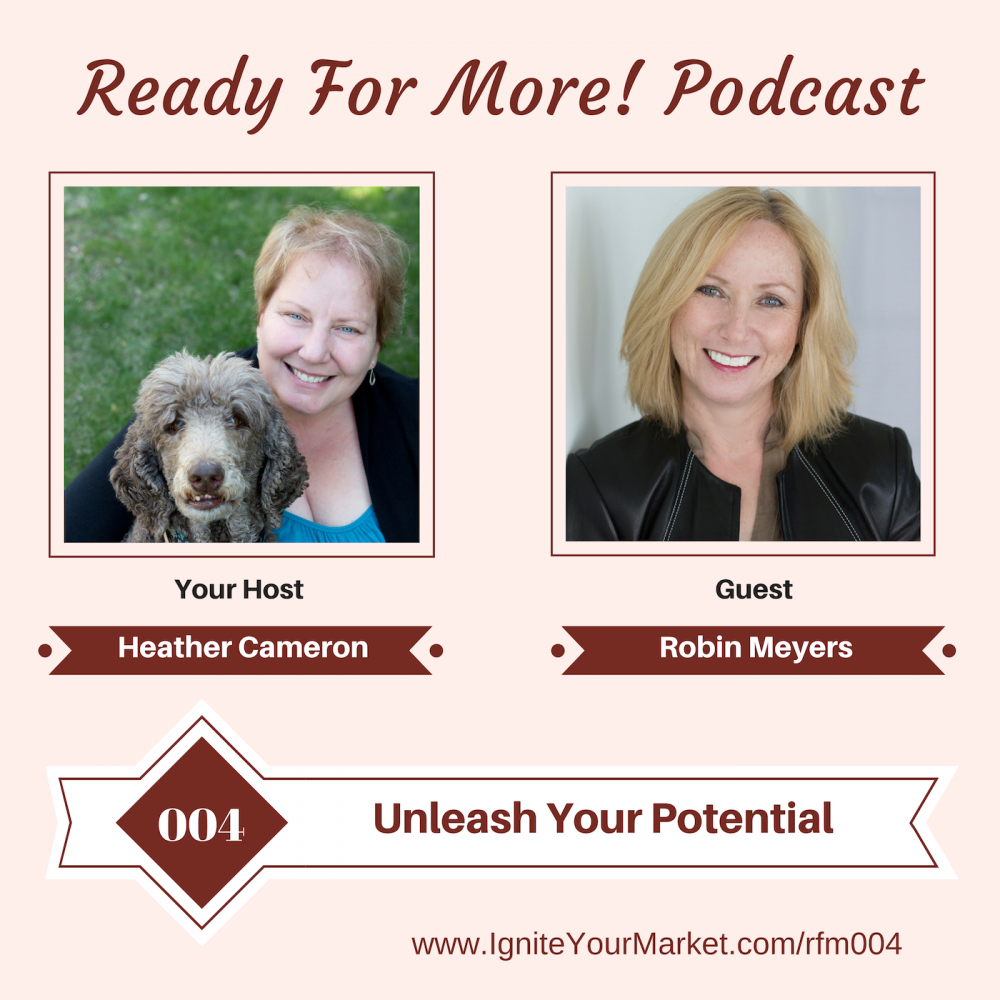Unleash Your Potential with Robin Meyers – RFM004
