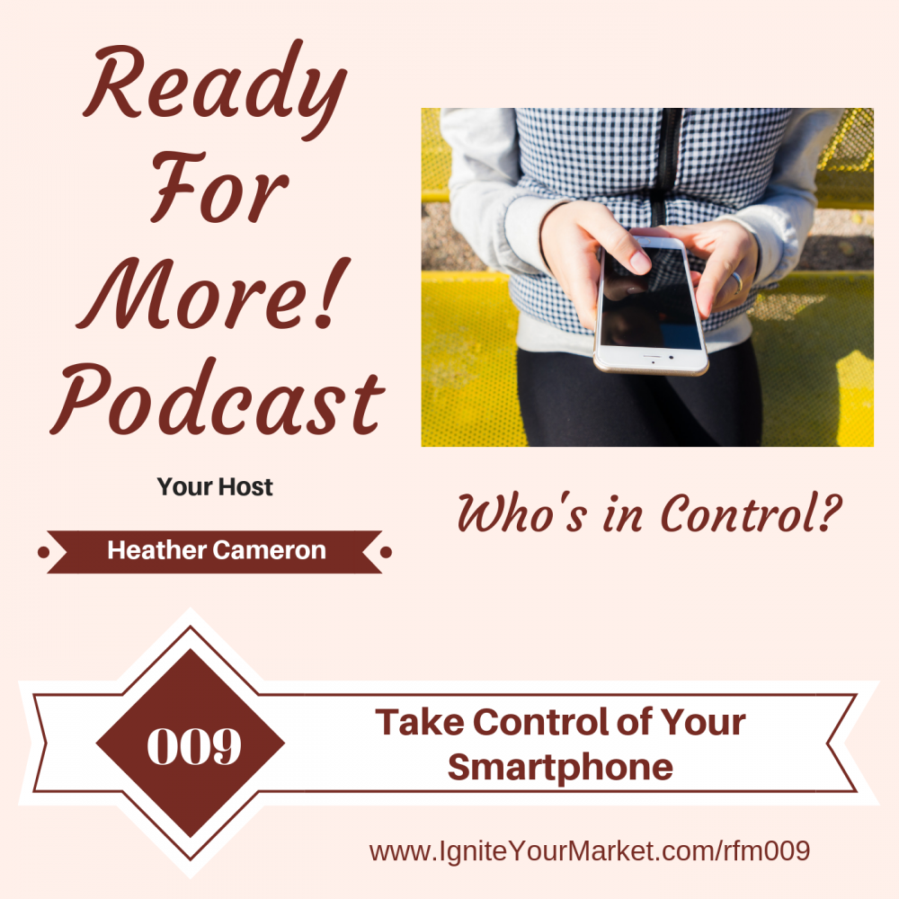 Take Control of Your Smartphone – RFM009