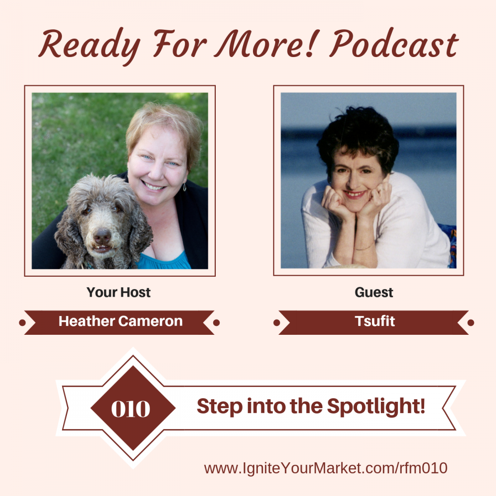 Step into the Spotlight with Tsufit – RFM010
