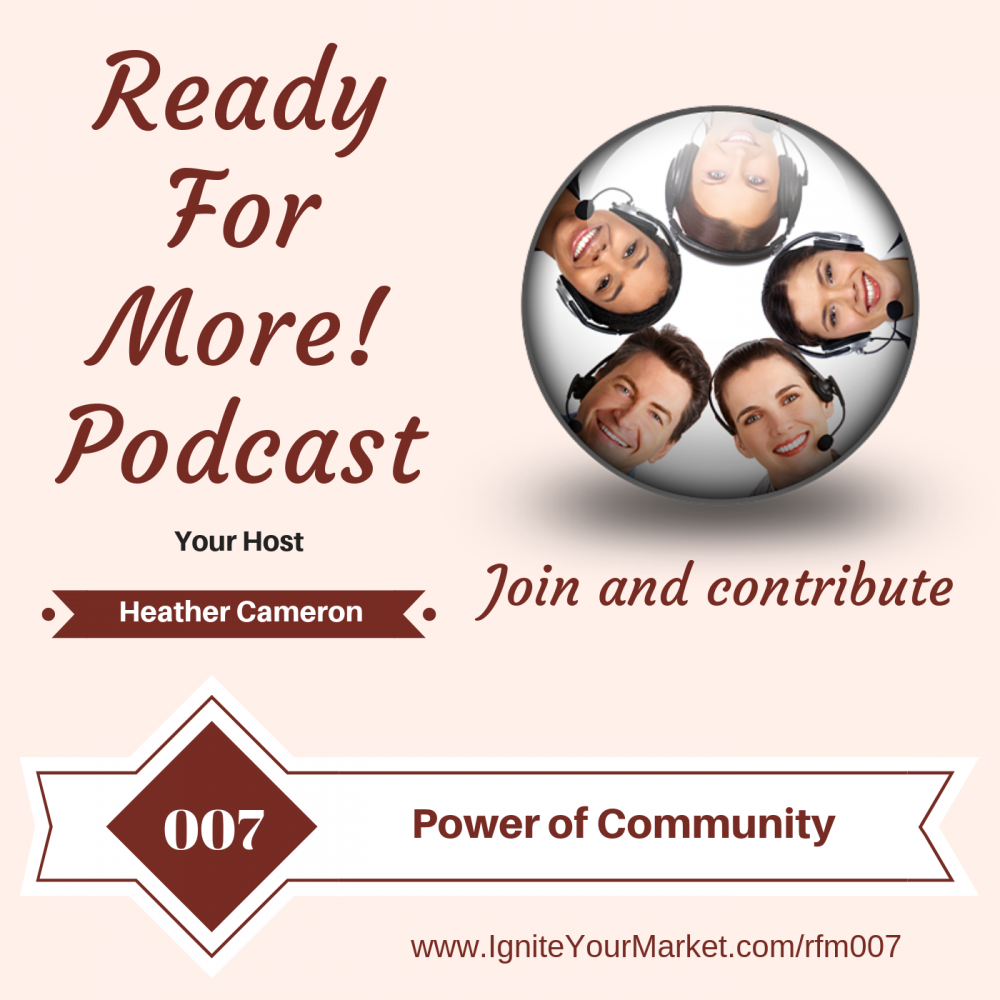The Power of Community – RFM007