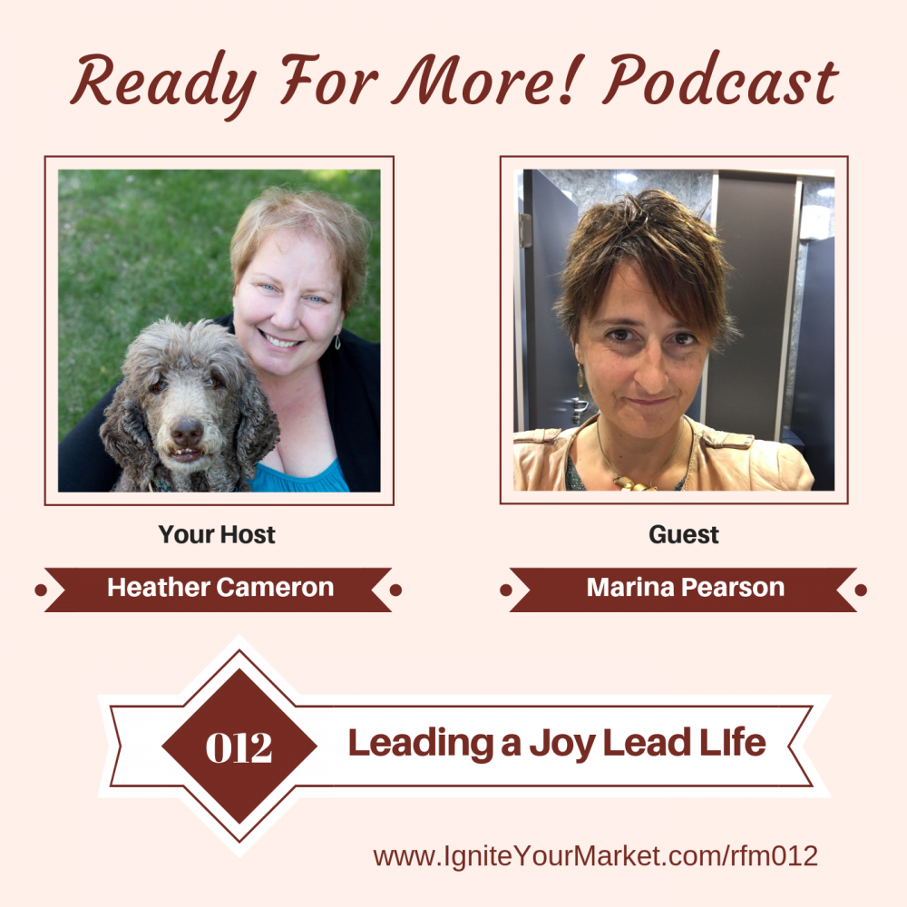 Leading a Joy Lead Life with Marina Pearson – RFM012