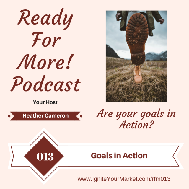 Are your goals in action?