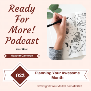 Planning Your Awesome Month