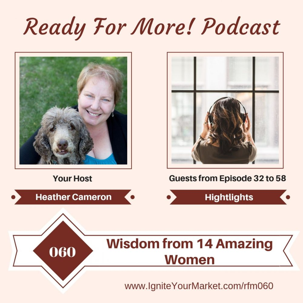 Wisdom from 14 Amazing Women – RFM060