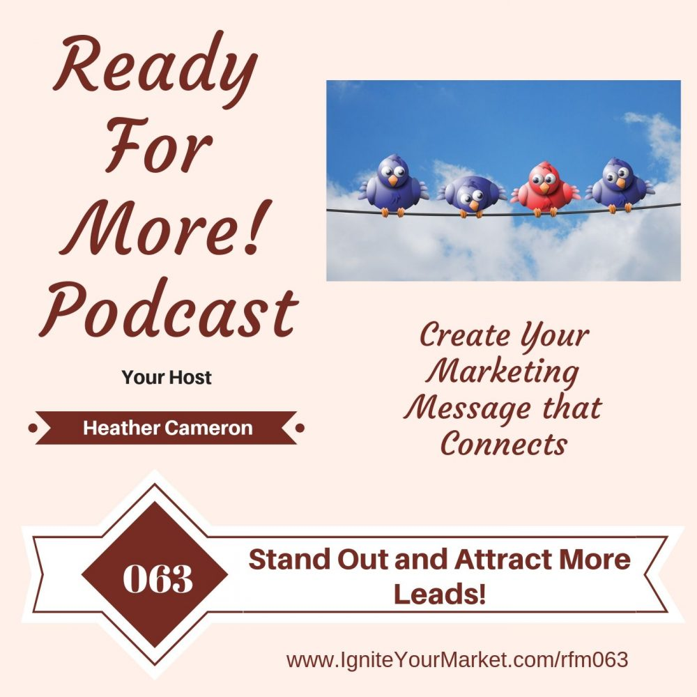 Stand Out and Attract More Leads – RFM063